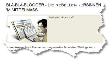 SonntagsZeitung: Bla-Bla-Blogger