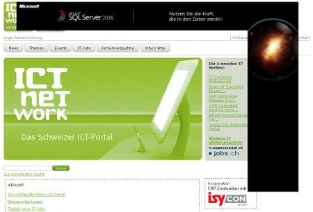 ICTnetwork - Werbung, die bedeckt...