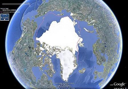 Google Ocean: Arktis