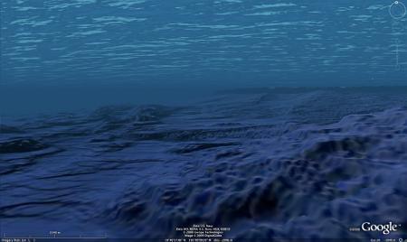Google Ocean: unter Wasser
