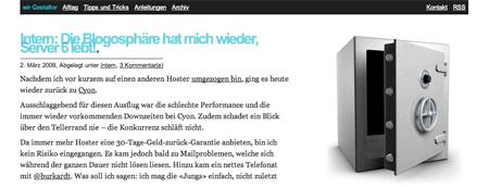 BlogTipp der Woche: wirgestalter.ch