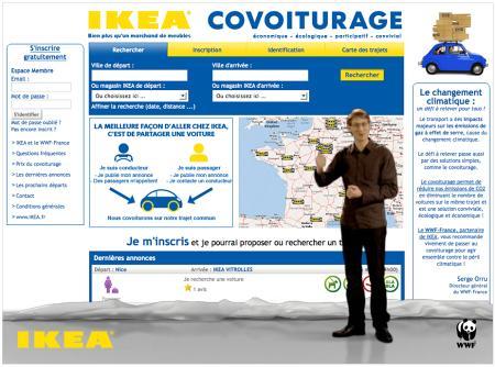 IKEA Leko: Carsharing-Konzept für Frankreich