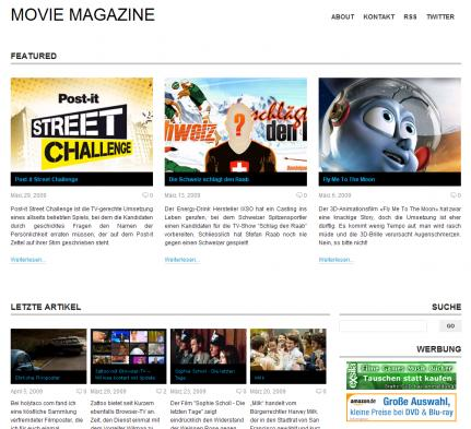BlogTipp der Woche: Movie Magazine