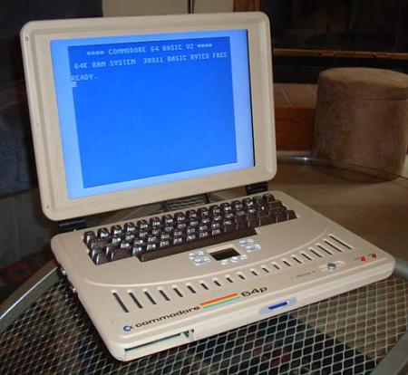 Commodore C64-Laptop