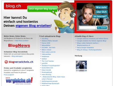 blog.ch - Screenshot