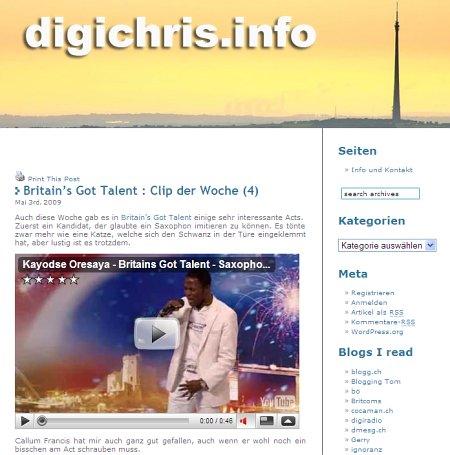 BlogTipp der Woche: digichris.info