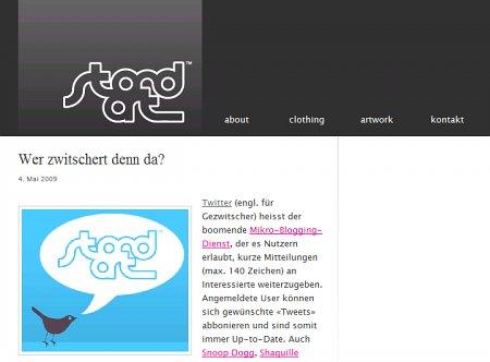 BlogTipp der Woche: stand.art