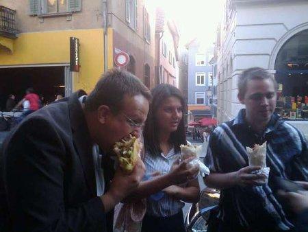 Telefonkabinen-Sit-In Kebab