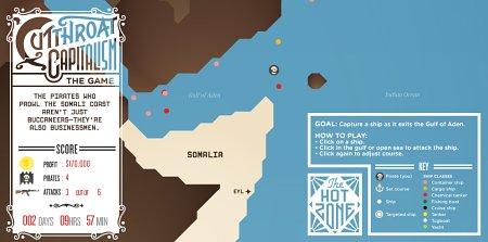 Spiel: Piraten im Golf von Aden