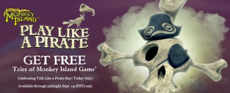 Play like a pirate - Monkey Island