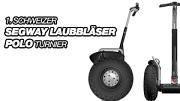 1. Schweizer Segway-Laubbläser-Polo-Turnier