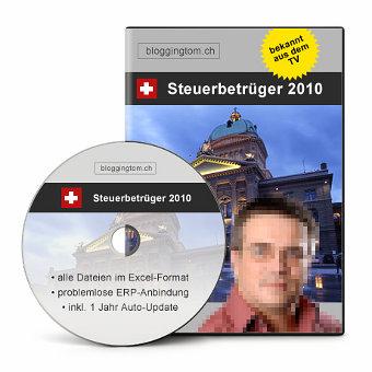 Steuerbetrüger-CD
