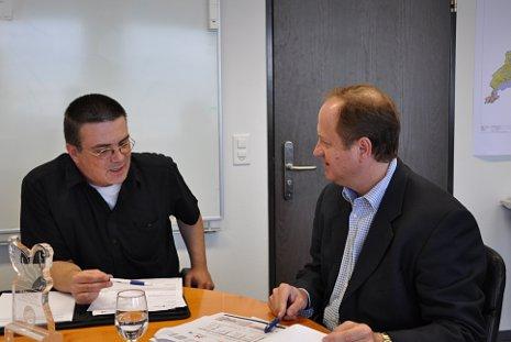Cabletom trifft Cablecom-CEO Eric Tveter