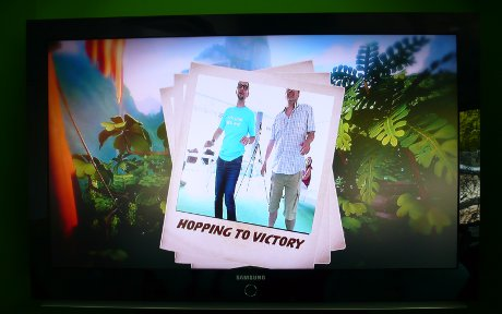 Microsoft Kinect - Hopping for victory