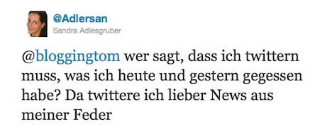 Tweet - Antwort von IDG - adlersan