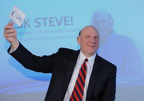 Steve Ballmer in Zürich - I like