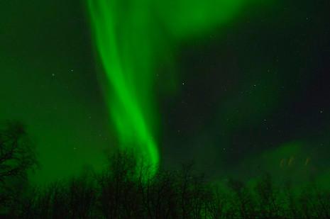 Polarlicht bei Abisko/Schweden