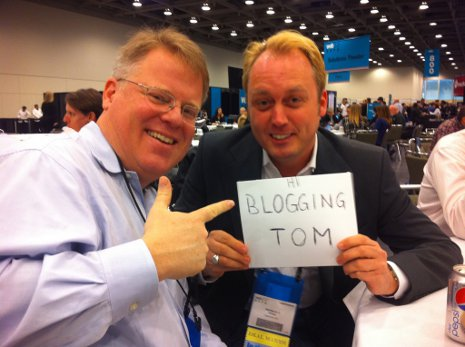 Patrick Price und Robert Scoble: Hi BloggingTom