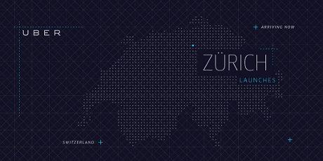 Uber startet in Zürich