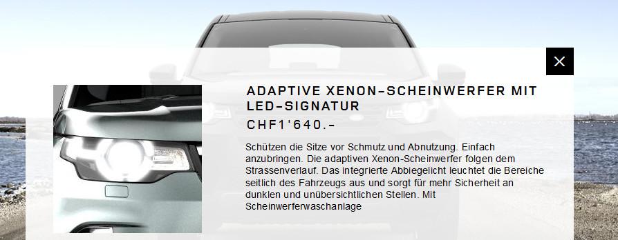 Range Rover - Adaptive Xenon Schweinwerfer sorgen für saubere Sitze