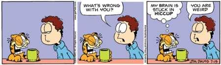 Garfield Schluckauf