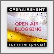 Open Air Blogging-Party in Offenbach/Frankfurt