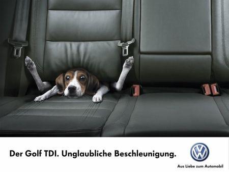 Golf TDI - Unglaubliche Beschleunigung