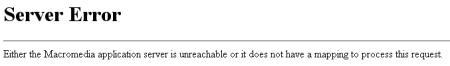 mymail.ch - Server Error