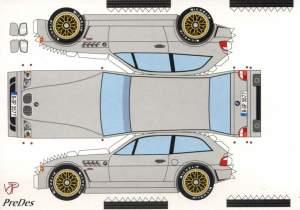 BMW M Roadster - Bastelbogen