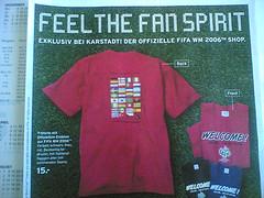 Karstadt - Fussball-WM T-Shirts