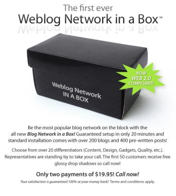 Weblog Network in a Box