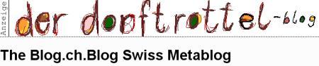 blog.ch mit Werbung