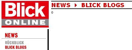 Screenshot Blick - Blogstetten