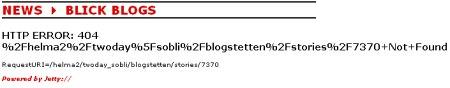 Blick Blog - Blogstetten