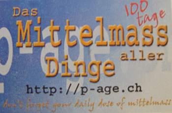 p-age.ch - Mittelmass Visitenkarte
