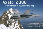 1. Schweizer Blogspaziergang auf die Axalp