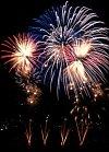 Feuerwerk am Seenachtfest Rapperswil