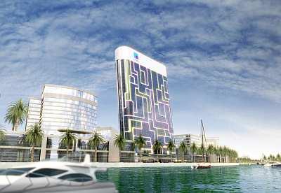 Das geplante iPad-Hochhaus in Dubai
