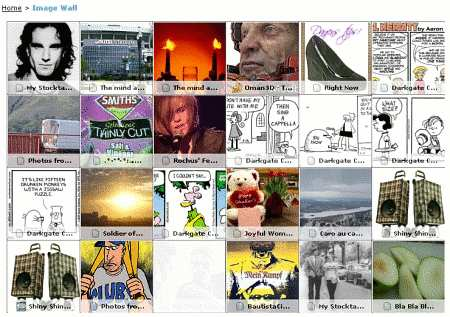 Bloglines Imagewall - Screenshot