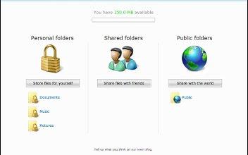 Microsoft Windows Live Folders