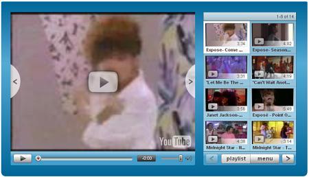 YouTube - Custom Player mit Vorschau
