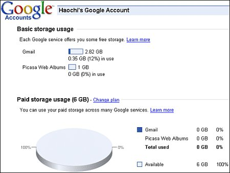 Google Storage Program