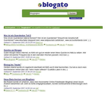 blogato - Suchergebnis