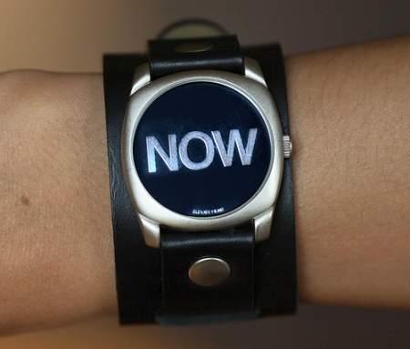 Neue Uhr: NOW