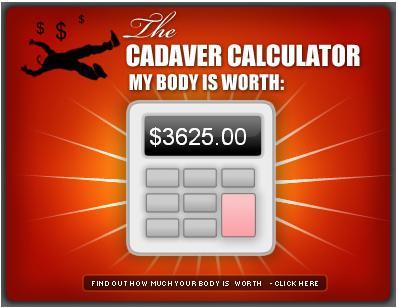 Kadaver Kalkulator