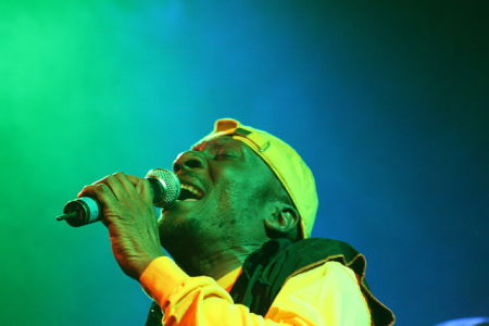 Jimmy Cliff am Reeds Openair in Pfäffikon