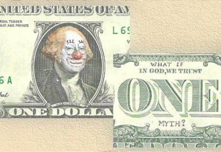 Verzierter US-Dollar