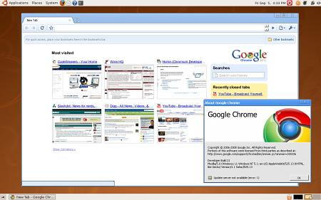 CrossOver Chromium für Linux - Google Chrome