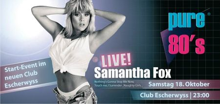 Pure80's - Samantha Fox Live
