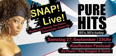 Pure Hits: 3 x 2 Tickets für SNAP!